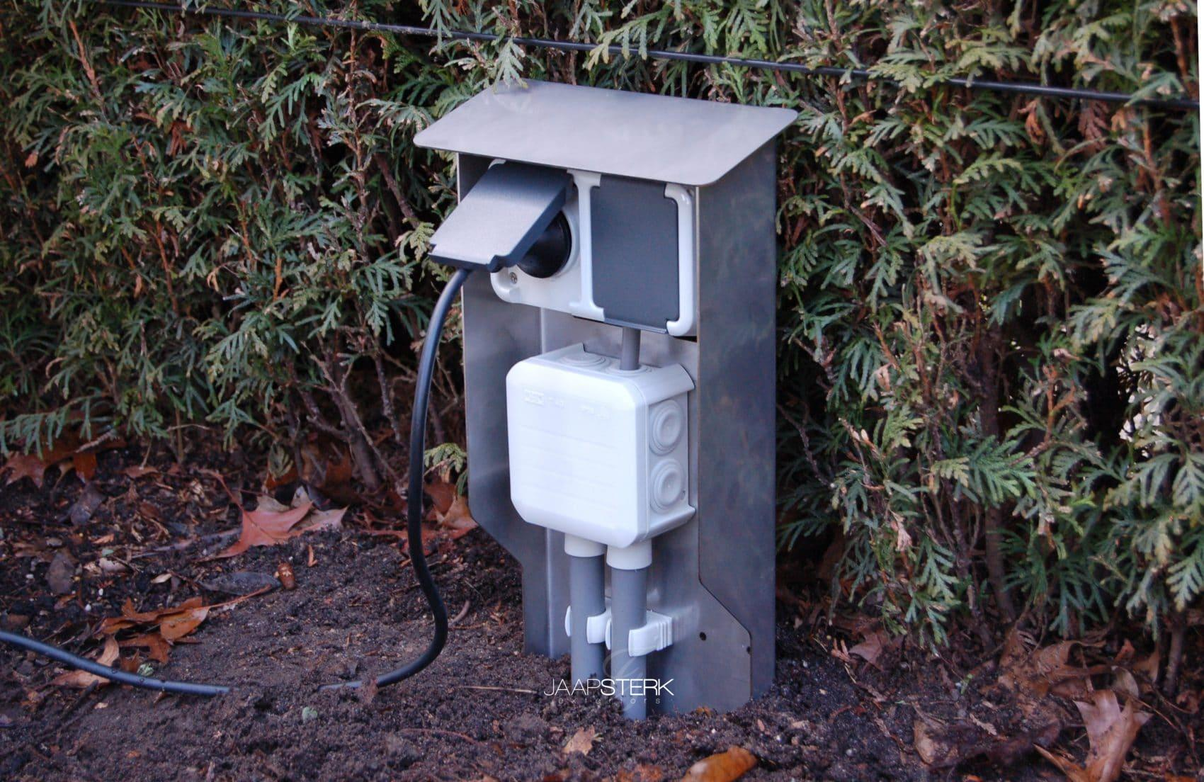 Elektra Aanleggen Tuin : Wcd paaltje het ideale montage paaltje voor elektra in uw tuin