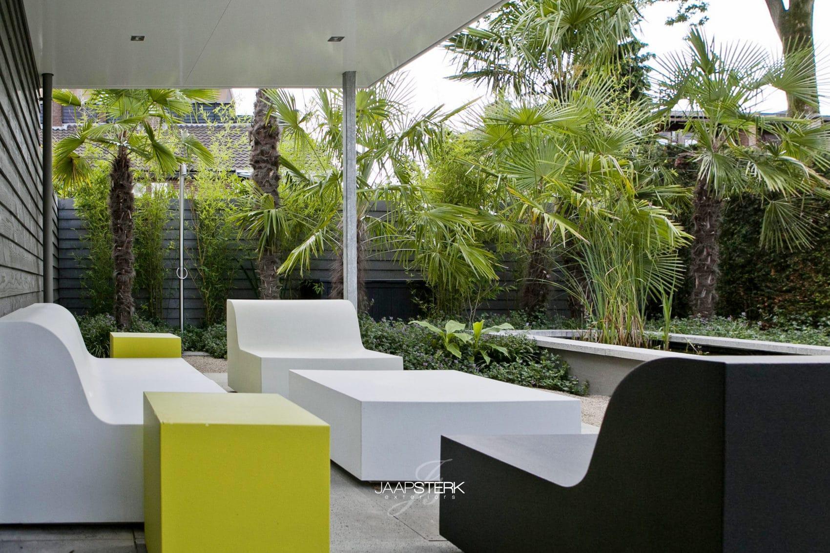 Tuinontwerp voor kleine tuin