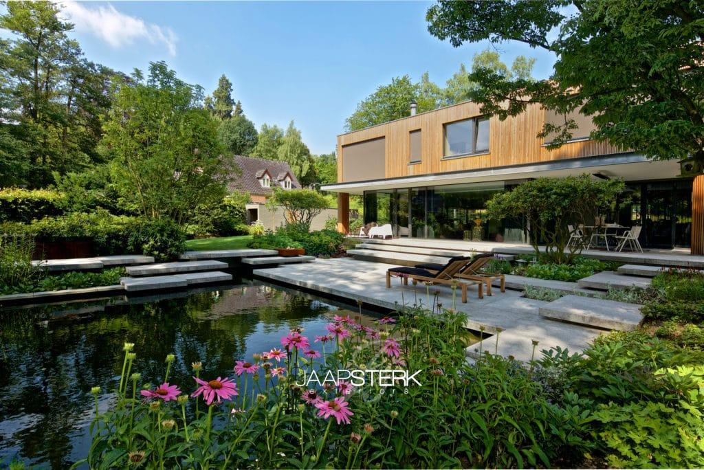 Tuinarchitectuur de tuin van het jaar verkiezing