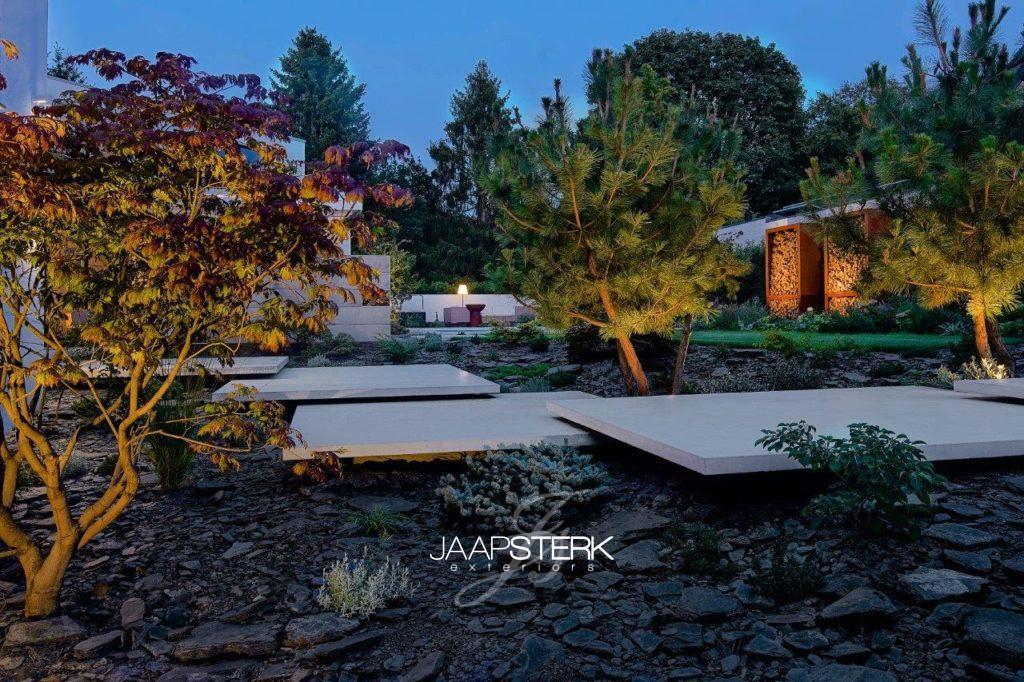 Vacature Tuinarchitect / Ontwerper van particuliere tuinen Moderne en strakke tuinarchitectuur leisteen zwevend beton