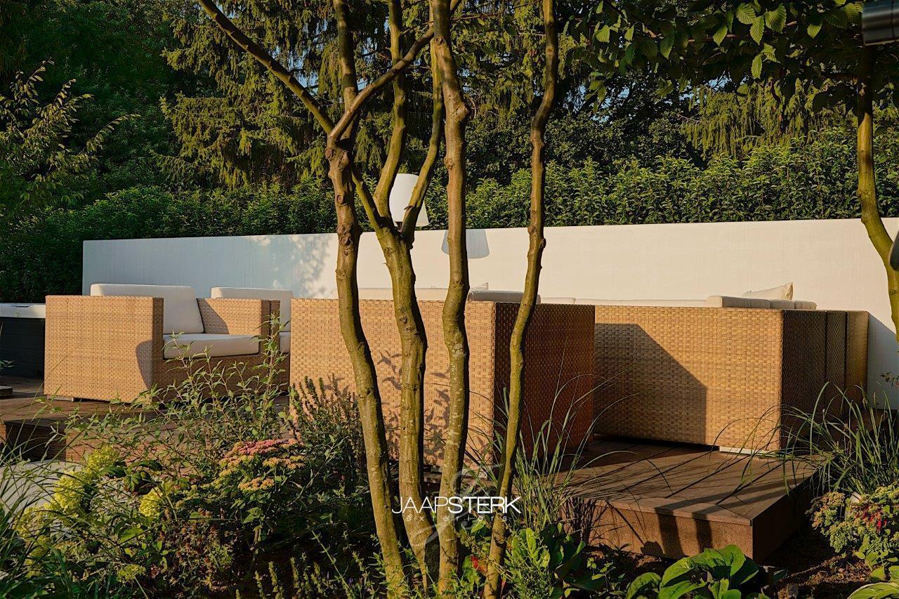 Moderne en strakke tuinarchitectuur