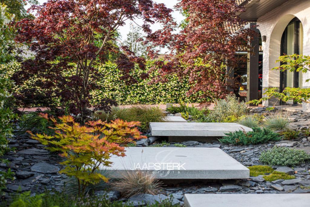 Tuinarchitectuur Oegstgeest tuinaanleg door Jaap Sterk Exteriors